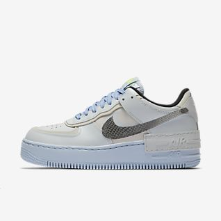 air force 1 donna blu e nere