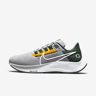 Nike Air Zoom Pegasus 38 (NFL Green Bay Packers) Men's Running Shoe