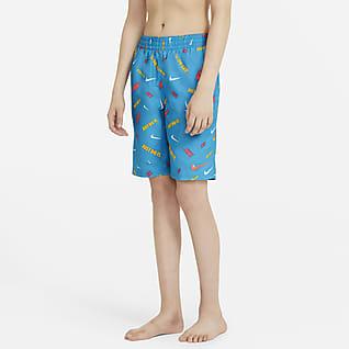 "Nike Logofetti Big Kids' (Boys') 8"" Swim Trunks"