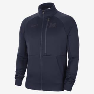 Jordan N98 (Michigan) Men's Full-Zip Jacket
