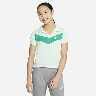 Nike Sportswear Heritage Big Kids' (Girls') Polo