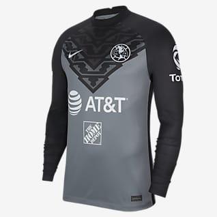 Club América Stadium 2021/22 portero Camiseta de fútbol de manga larga para hombre