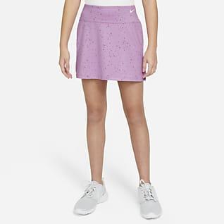 Nike Dri-FIT Big Kids' (Girls') Printed Golf Skirt