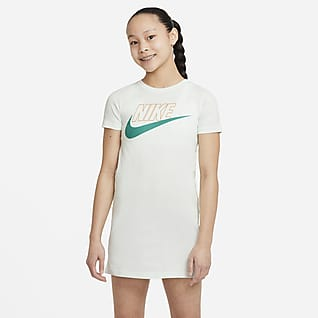 Nike Sportswear Big Kids' (Girls') T-Shirt Dress