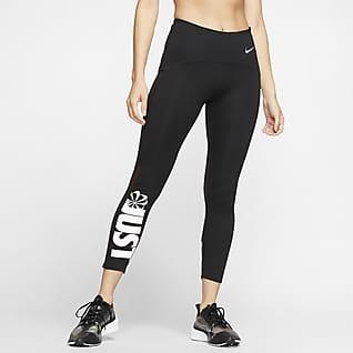 Nike Speed Icon Clash 7/8-hardlooptights voor dames