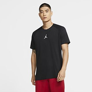 Jordan Air Camiseta de entrenamiento de manga corta para hombre