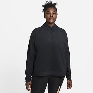 Prenda de paño grueso Nike Air Camiseta de running para mujer (talla grande)
