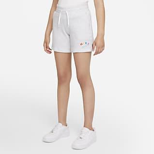 Nike Sportswear Big Kids' (Girls') Shorts