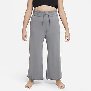 Nike Yoga Pants para niña talla grande (talla amplia)