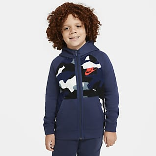 Nike Sportswear Club Fleece Big Kids' (Boys') Full-Zip Hoodie