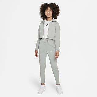 Nike Sportswear Tracksuit med høyt liv til store barn (jente)