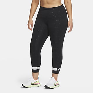 Nike Air Løpeleggings i 7/8 lengde med høyt liv til dame (Plus Size)