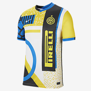 Inter de Milán cuarta alternativa Stadium 2020/21 Camiseta de fútbol para hombre