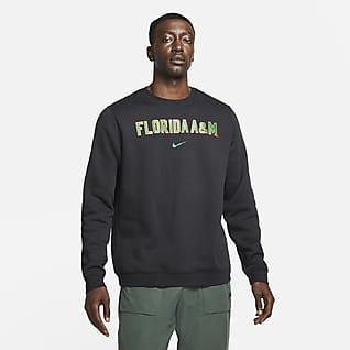 Nike College Club Fleece (FAMU) Sudadera de cuello redondo