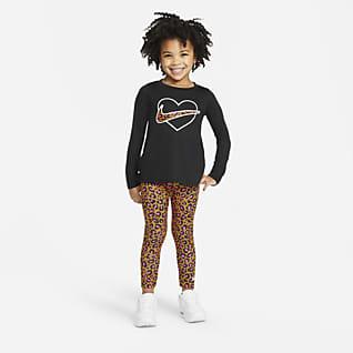 Nike Conjunto de camiseta y leggings - Infantil