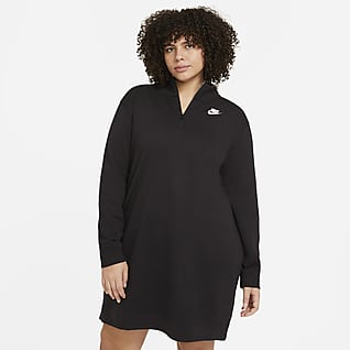 Nike Sportswear Club Vestido de tejido fleece para mujer (talla grande)