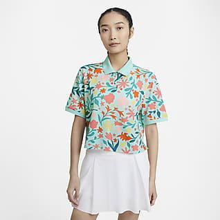 The Nike Polo Γυναικεία εμπριμέ μπλούζα πόλο
