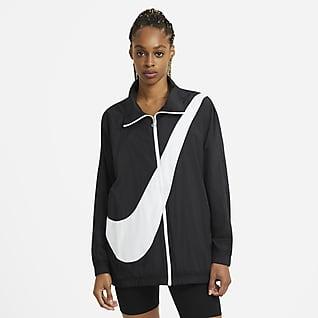 Nike Sportswear Webjacke mit Swoosh