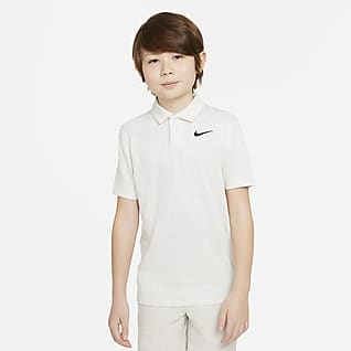 Nike Dri-FIT Tiger Woods Big Kids' (Boys') Printed Golf Polo