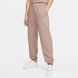 NikeLab กางเกงขายาวผ้าฟลีซผู้หญิง