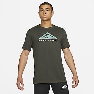 Nike Dri-FIT T-shirt da trail running a manica corta