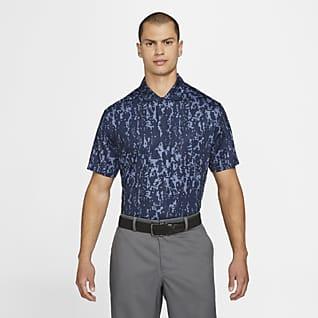 Nike Dri-FIT Vapor Mintás, galléros férfi golfpóló