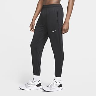 Nike Essential Pantaloni da running in maglia - Uomo