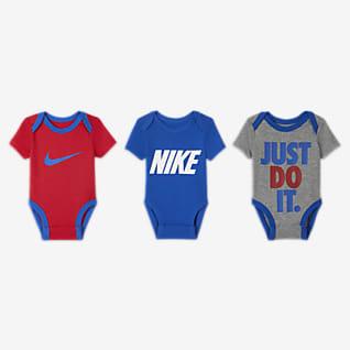 Nike Conjunto de body para bebé (0 a 9 meses) (3 piezas)