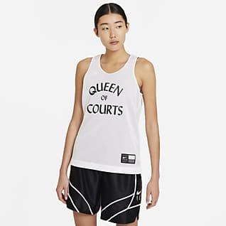 Nike Swoosh Fly เสื้อแข่งบาสเก็ตบอลผู้หญิงใส่ได้ 2 ด้าน