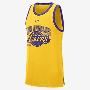 Los Angeles Lakers Courtside Men's Nike DNA NBA Tank