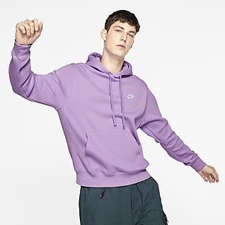 Nike Sportswear Club Fleece Huvtröja i pullovermodell