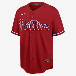 MLB Philadelphia Phillies (Rhys Hoskins) Men's Replica Baseball Jersey