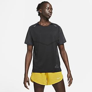 Nike Rise 365 Run Division Мужская беговая футболка с коротким рукавом