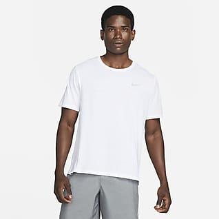 Nike Dri-FIT Miler Løbeoverdel til mænd