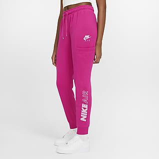 Nike Air Calças de lã cardada para mulher