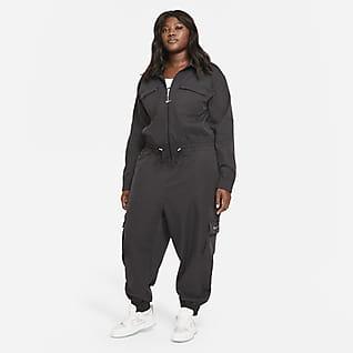 Nike Sportswear Swoosh Praktikus női overál (plus size méret)