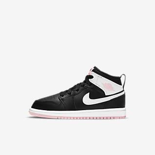 Jordan 1 Mid Little Kids' Shoes