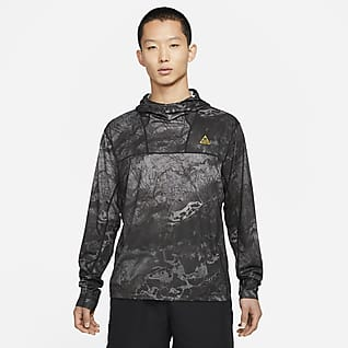 "Nike ACG Dri-FIT ADV UV ""Lava Tree"" 男款滿版印花連帽上衣"