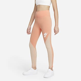 Nike Sportswear Favourites Older Kids' (Girls') High-Waisted Leggings
