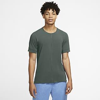 Nike Yoga Dri-FIT Kurzarm-Oberteil für Herren