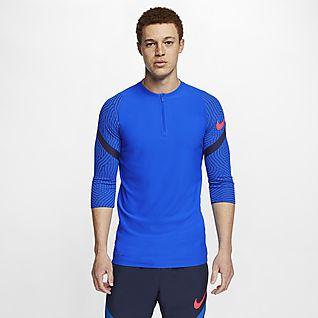 Nike VaporKnit Strike Men's Football Drill Top
