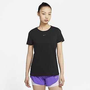 Nike Yoga Dri-FIT 女子印花T恤