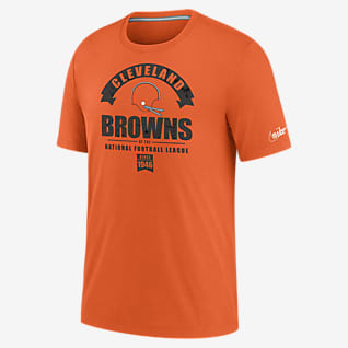Nike Historic (NFL Browns) Men's Tri-Blend T-Shirt