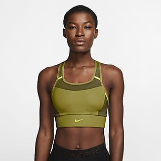 Nike Swoosh Women's Medium-Support 1-Piece Pad Pocket Sports Bra