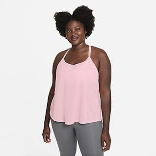 Nike Dri-FIT One Elastika Camiseta de tirantes de ajuste estándar para mujer (talla grande)