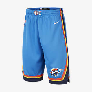 Thunder Icon Edition Older Kids' Nike NBA Swingman Shorts