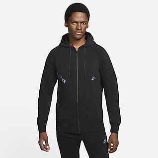Nike Sportswear Air Max Fleecehuvtröja med hel dragkedja för män