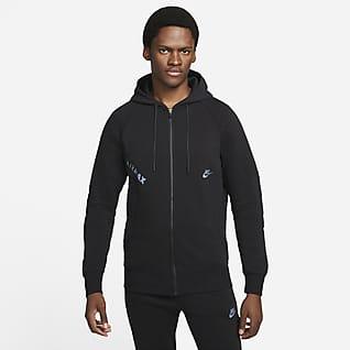 Nike Sportswear Air Max Tam Boy Fermuarlı Fleece Erkek Kapüşonlu Üstü