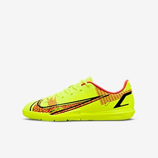 Nike Jr. Mercurial Vapor 14 Academy IC Little/Big Kids' Indoor/Court Soccer Shoe