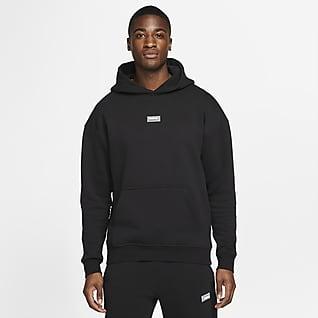 Nike F.C. Fleece Erkek Kapüşonlu Futbol Sweatshirt'ü